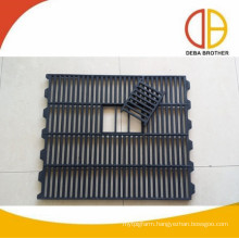 600x700mm cast iron floors pig floors sow cast iron slats Deba pig equipment